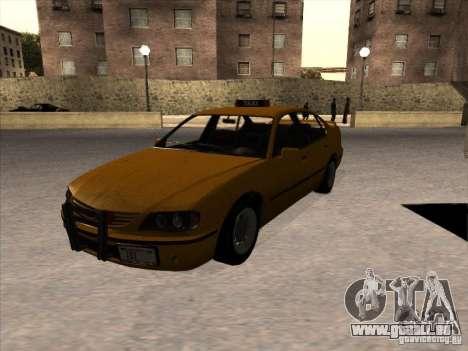 Taxi von GTA IV für GTA San Andreas