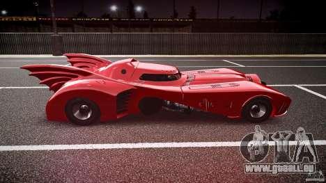 Batmobile Final pour GTA 4 est une vue de l'intérieur