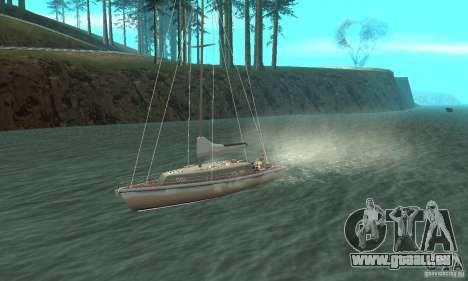 Marquis Segelyacht 09 Textures pour GTA San Andreas vue intérieure