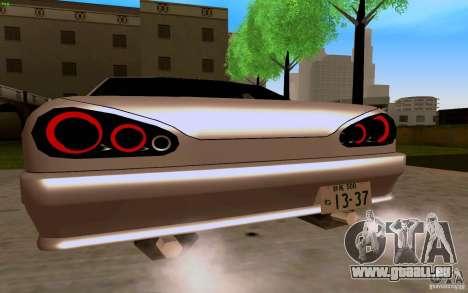 Nouvelle élégie pour GTA San Andreas vue de droite