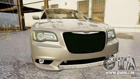 Chrysler 300 SRT8 2012 pour GTA 4 Vue arrière de la gauche