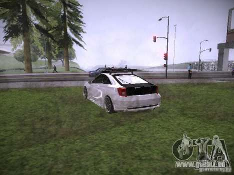 Toyota Celica für GTA San Andreas zurück linke Ansicht