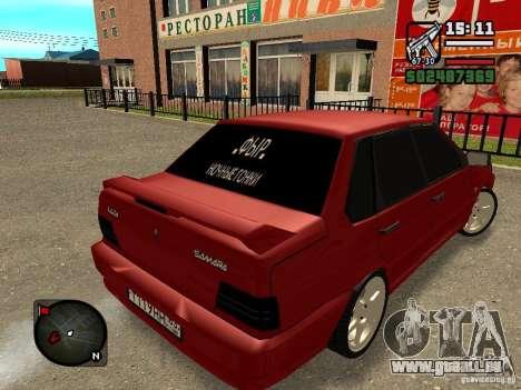 VAZ 2115 FYR Beta für GTA San Andreas linke Ansicht