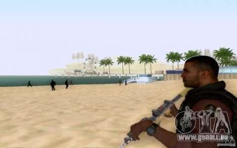 Salazar dans le civil pour GTA San Andreas quatrième écran