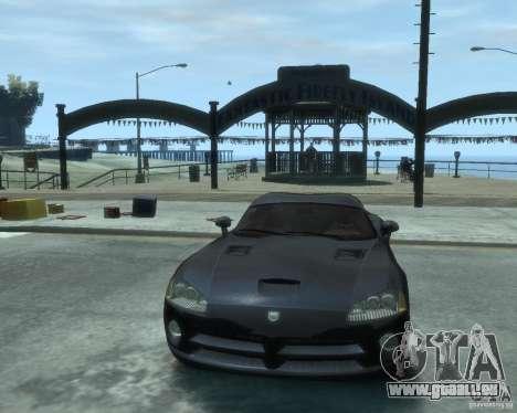 Dodge Viper srt-10 Coupe für GTA 4 Rückansicht