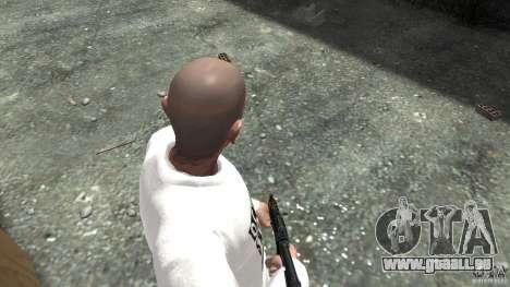 AKS-74U für GTA 4 dritte Screenshot