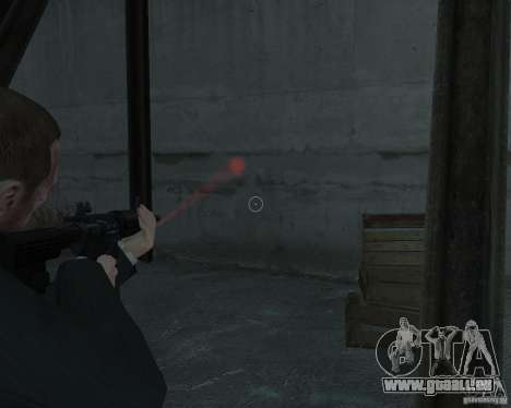 Flashlight for Weapons v 2.0 pour GTA 4 secondes d'écran