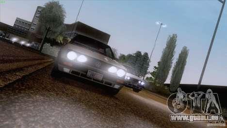 Volkswagen Golf Mk2 GTi für GTA San Andreas zurück linke Ansicht
