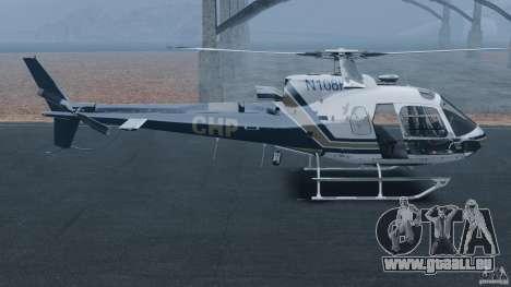 Eurocopter AS350 Ecureuil (Squirrel) für GTA 4 linke Ansicht