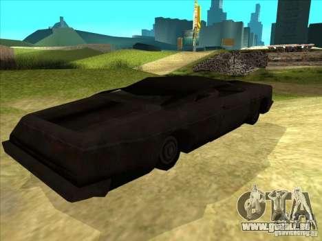 Real Ghostcar pour GTA San Andreas vue de droite