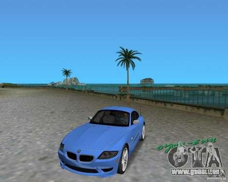 BMW Z4 für GTA Vice City