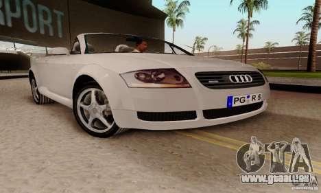 Audi TT Roadster pour GTA San Andreas vue de droite