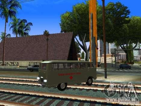 Urgence de RAPH-977IM pour GTA San Andreas vue de droite