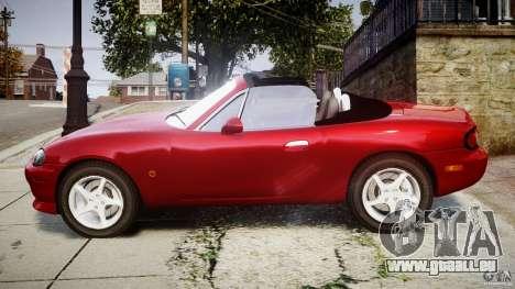 Mazda MX-5 Miata pour GTA 4 est une gauche