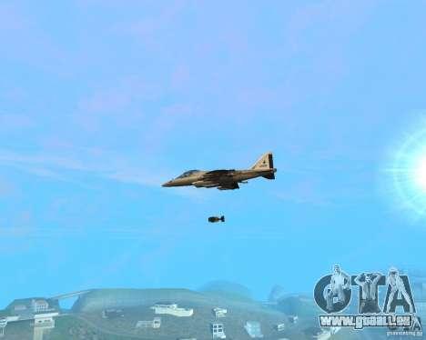 Cluster Bomber pour GTA San Andreas deuxième écran