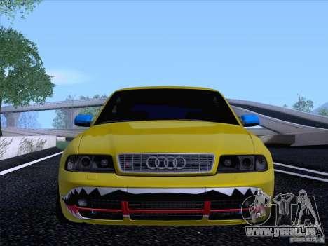 Audi S4 DatShark 2000 pour GTA San Andreas vue arrière