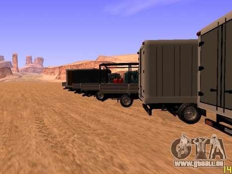 ZIL 5301 Goby für GTA San Andreas Innen
