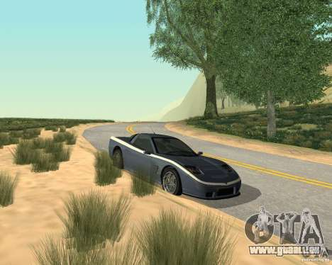 Soquette de GTA 4 pour GTA San Andreas laissé vue