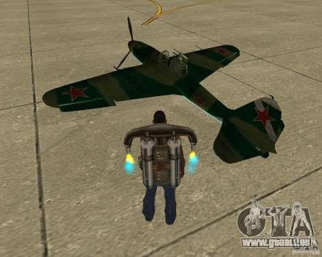 Il-2 m für GTA San Andreas linke Ansicht