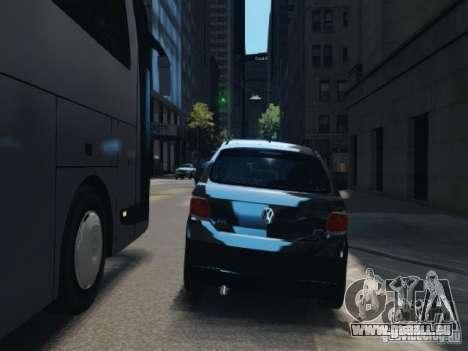 Volkswagen Gol G6 für GTA 4 Rückansicht
