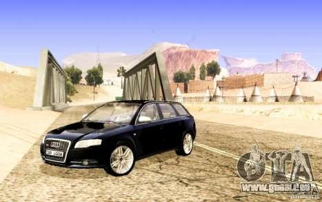 Audi S4 Avant pour GTA San Andreas