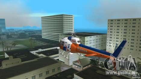 Eurocopter As-350 TV Neptun pour une vue GTA Vice City de la droite