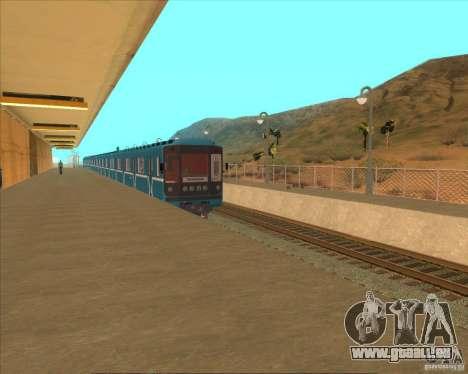 Les plates-formes élevées dans les gares pour GTA San Andreas huitième écran