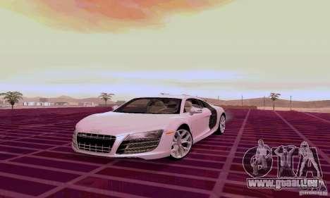 Audi R8 V10 5.2. FSI pour GTA San Andreas