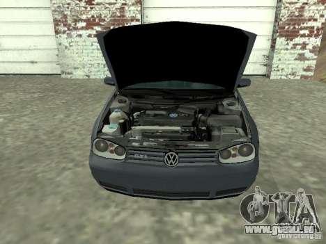 Volkswagen Golf IV für GTA San Andreas rechten Ansicht