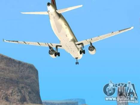 Airbus A320 Air France für GTA San Andreas Innenansicht