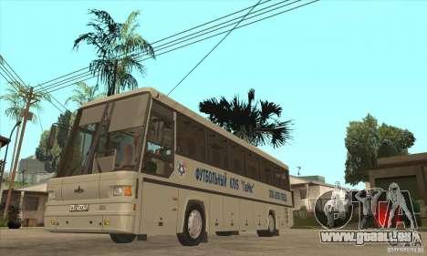 MAZ-152A für GTA San Andreas Innenansicht