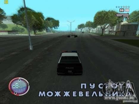 Outre le HUD de GTA IV pour GTA San Andreas deuxième écran