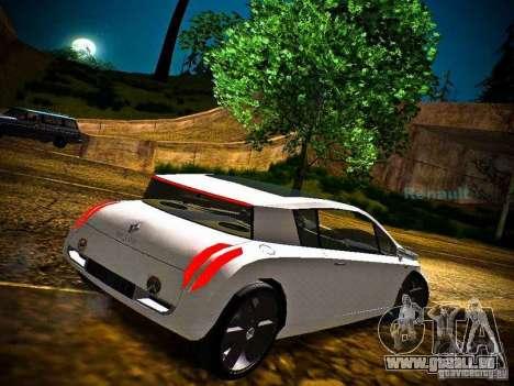 Renault Vel Satis pour GTA San Andreas laissé vue