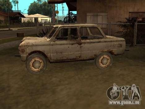 Zaporozhets de S.t.a.l.k.e.r. pour GTA San Andreas laissé vue