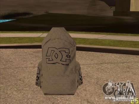 Parachute DC pour GTA San Andreas