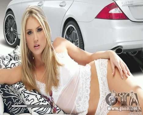 Loading Screens und Auto Mädchen für GTA San Andreas her Screenshot