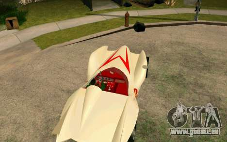 Mach 5 für GTA San Andreas zurück linke Ansicht