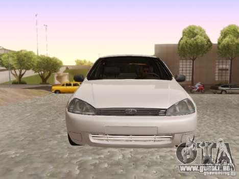 LADA Kalina Limousine für GTA San Andreas zurück linke Ansicht