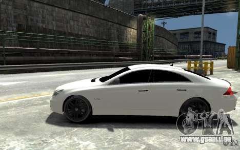 Mercedes Benz CLS Brabus Rocket 2008 pour GTA 4 est une gauche