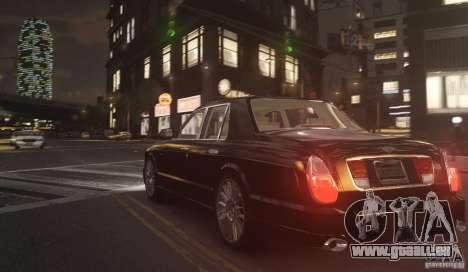 Bentley Arnage T v 2.0 für GTA 4 hinten links Ansicht