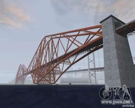 Neue Texturen der drei Brücken in SF für GTA San Andreas sechsten Screenshot