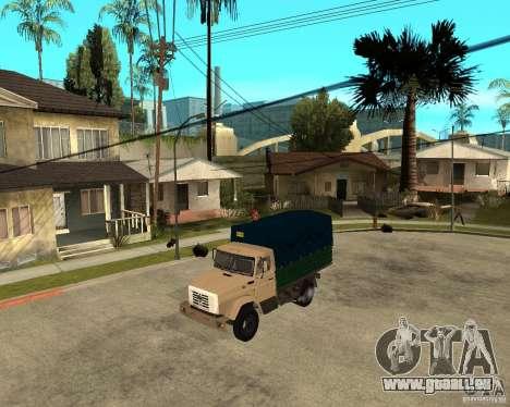 ZIL-433362 Extra Pack 1 für GTA San Andreas rechten Ansicht
