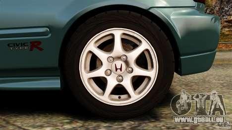 Honda Civic Type R (EK9) pour GTA 4 vue de dessus