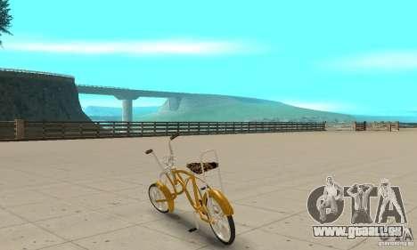 Lowrider für GTA San Andreas zurück linke Ansicht