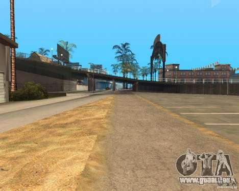 New textures beach of Santa Maria pour GTA San Andreas onzième écran