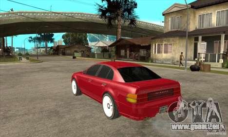 GTA IV Intruder für GTA San Andreas zurück linke Ansicht