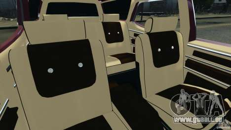 Oldsmobile Vista Cruiser 1972 v1.0 pour GTA 4 est une vue de l'intérieur
