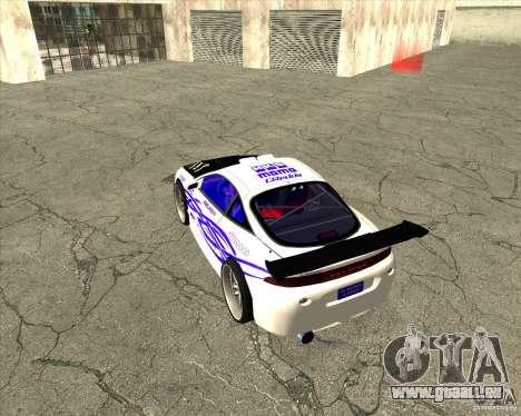 Mitsubishi Eclipse street tuning für GTA San Andreas Seitenansicht