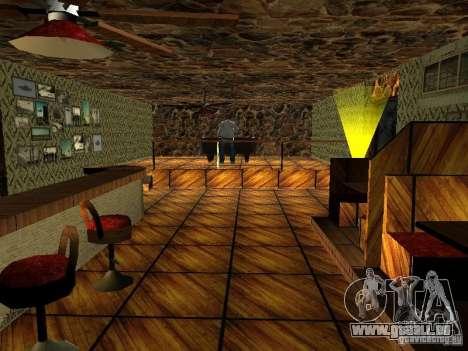 Nouvelle barre de textures UFO pour GTA San Andreas quatrième écran