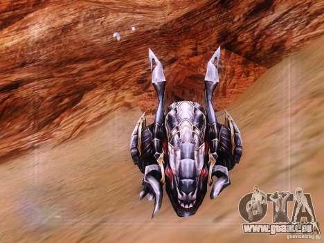 Dragon pour GTA San Andreas deuxième écran